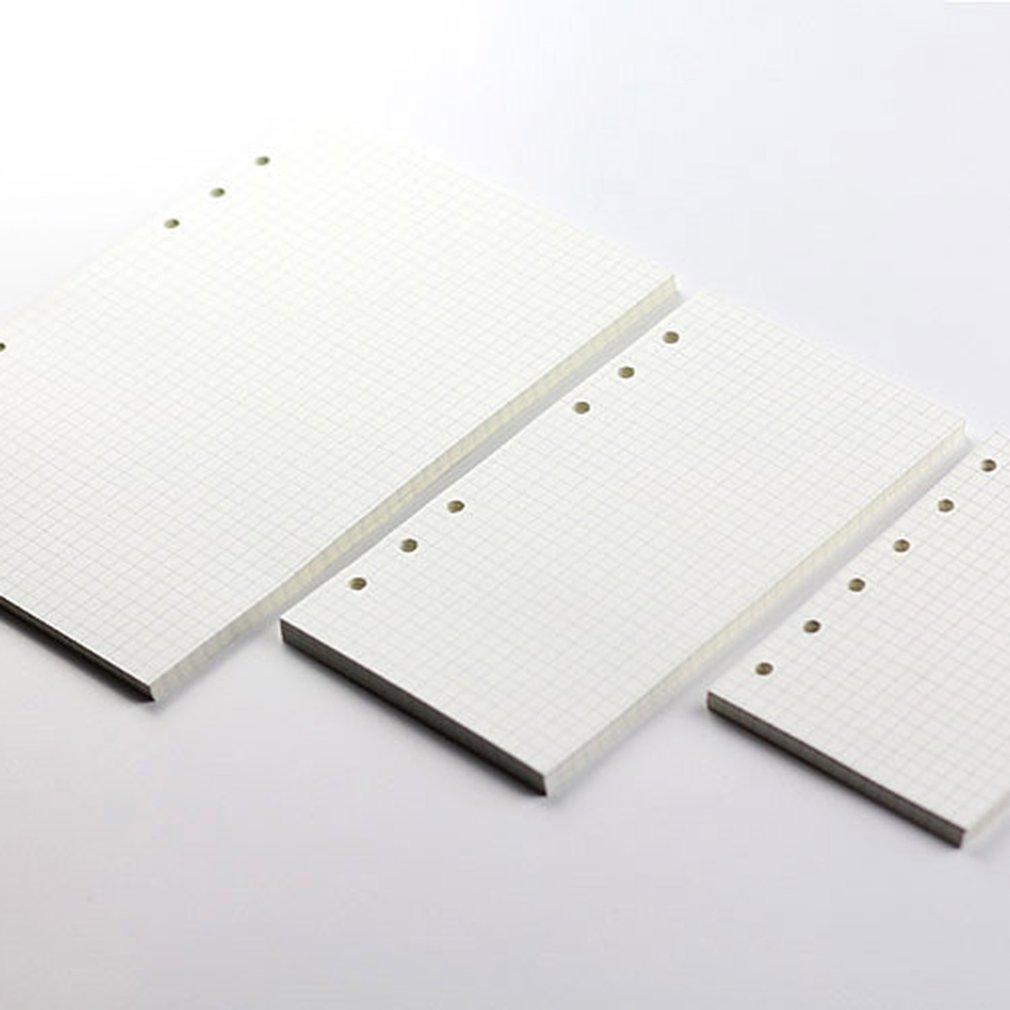6-Hole Loose-Leaf Refills Loose-Leaf Paper Notebook RefillsInside The Notebook Notepad Core A5/A6/A7 Grid Horizontalline Lattice