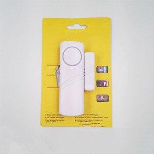 Wireless Door Window Sensor Burglar 90bp Alarm Magnetic Home Longer System Entry Burglar Security Battery Device Safety Home