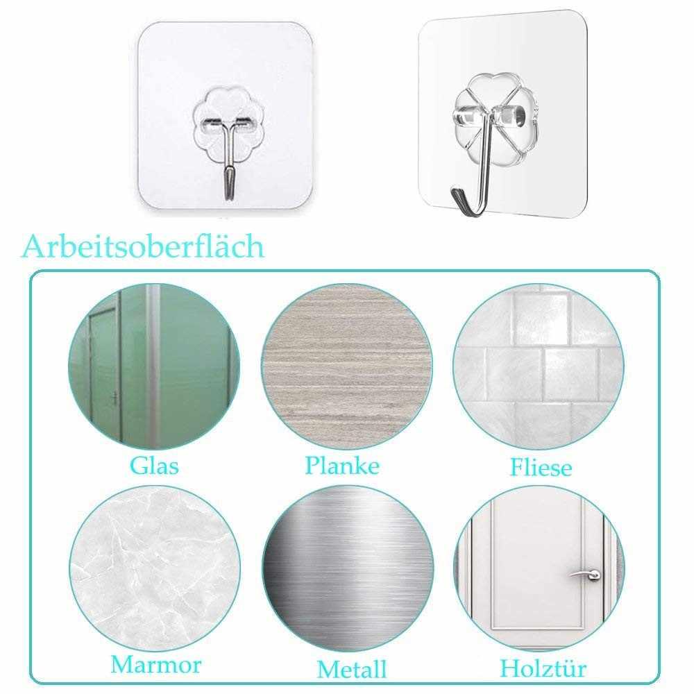 Forte casa ganchos de cozinha transparente ventosa otário ganchos de parede gancho para cozinha banheiro preço por atacado