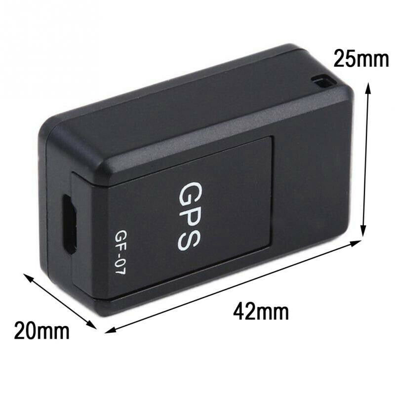 Details about Mini GPS Locator Long Standby Magnetic SOS Tracker Device Voice Recorder GF-07