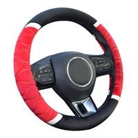 SOURCE Ridge Design Plaid Embossed Winter Plush Steering Wheel Cover New Style Short mao ba tao Warm for Both Men And Women