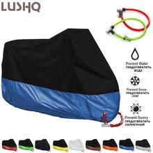 Чехол lushq для мотоцикла водонепроницаемый чехол с защитой