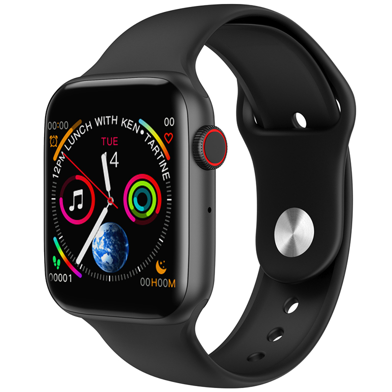 TIMEWOLF W34 Bluetooth Smart Watch Series 4 Blood Pressure Health Smart Watches 2019 Men Smartwatch For Apple Iphone Android