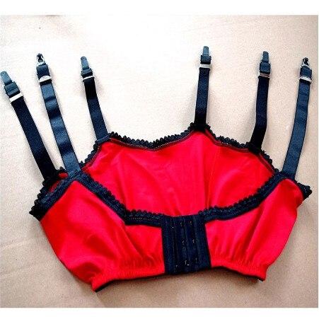 Image 5 - 2019 New Sexy Garter Belt Women High Waist Mesh Suspender Belt Female lady Elastic Sexy Lingerie Garters Femme Night Club-in Stockings from Underwear & Sleepwears