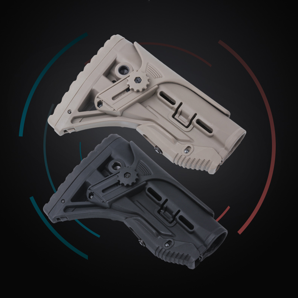 Newest Tactical Nylon Adjustable Extended Stock For Paintball Accessories Airsoft Air Guns AEG M4 AK Gel Blaster J8 J9 CS Sports