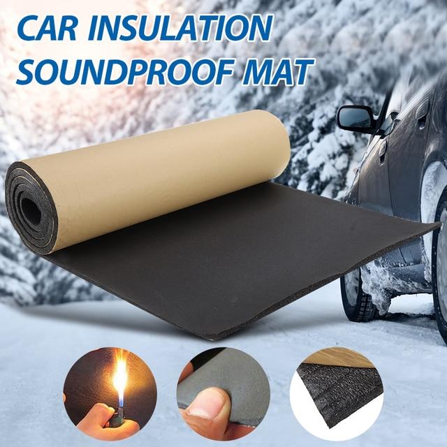 1Roll 200cmx50cm 3mm 30mm Car Home Soundproof Deadening Truck Anti noise Sound Insulation Cotton Heat Closed Cell Foam Deadener