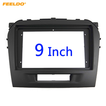 FEELDO Car Radio Audio 9 Big Screen 2DIN Fascia Frame Adapter For Suzuki Vitara DVD Player Dash Fitting Panel Frame Kit #HQ3154 image