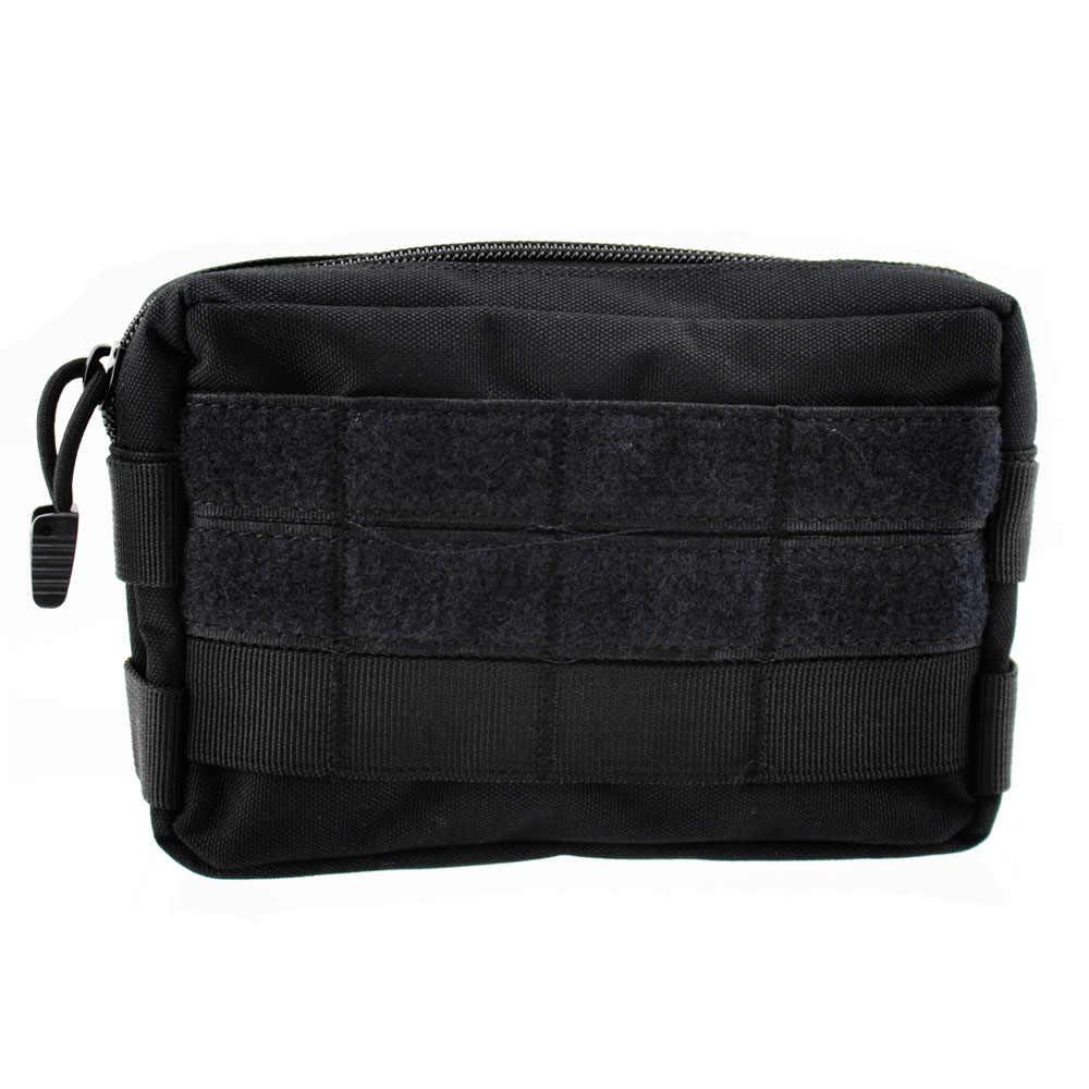 التكتيكية العسكرية 600D النايلون مول حزام EDC الحقيبة مجلة قطرة كيس مزموم أدوات في الهواء الطلق حزمة للصيد التخييم التنزه