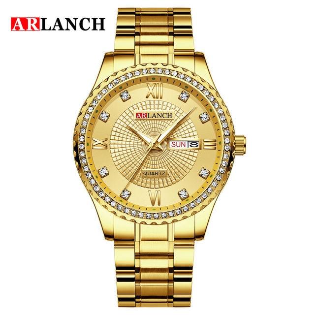 Фото часы наручные мужские кварцевые с бриллиантами модные деловые