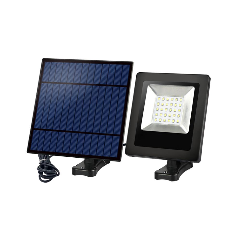 Solar Lawn Light LED Garden 30LED Floodlight Solar Garden Light Adjustable Solar Panel Security Lamp Waterproof For Lighting