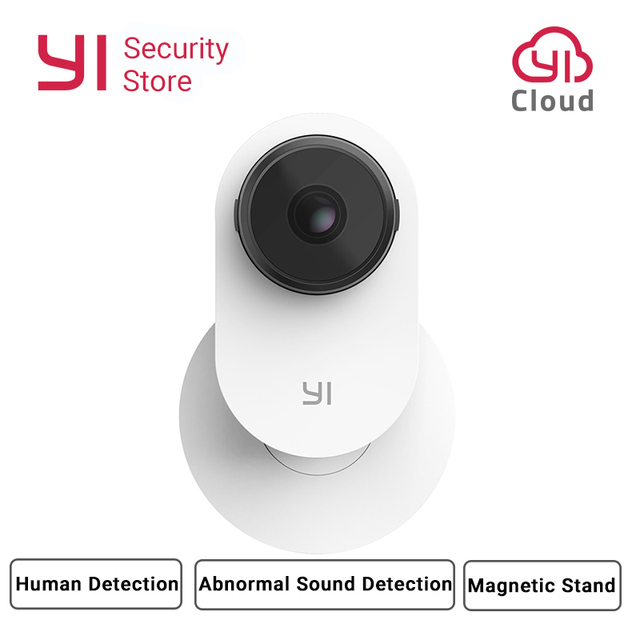 YI Home Camera 3 1080P AI Powered Security Surveillance System Indoor House Cam Magnetic Stand Human Detection 2 Way Audio Cloud