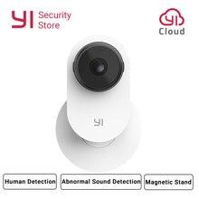 YI maison caméra 3 1080P AI alimenté système de Surveillance de sécurité intérieur maison Cam support magnétique détection humaine 2 voies Audio Cloud