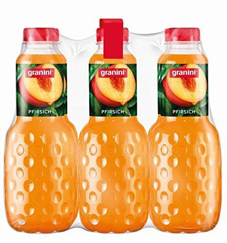 Granini Pfirsich-Nektar, 6er Pack (6 X 1 L) Flasche