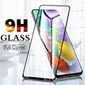 Защитное закаленное стекло на экран для Samsung 50 A20 A10 A50 A40 A30 A20e A70 A51 стекло A71 A41 A20S A21S A31 A01S M51 M31 S M21 Защитная пленка для экрана