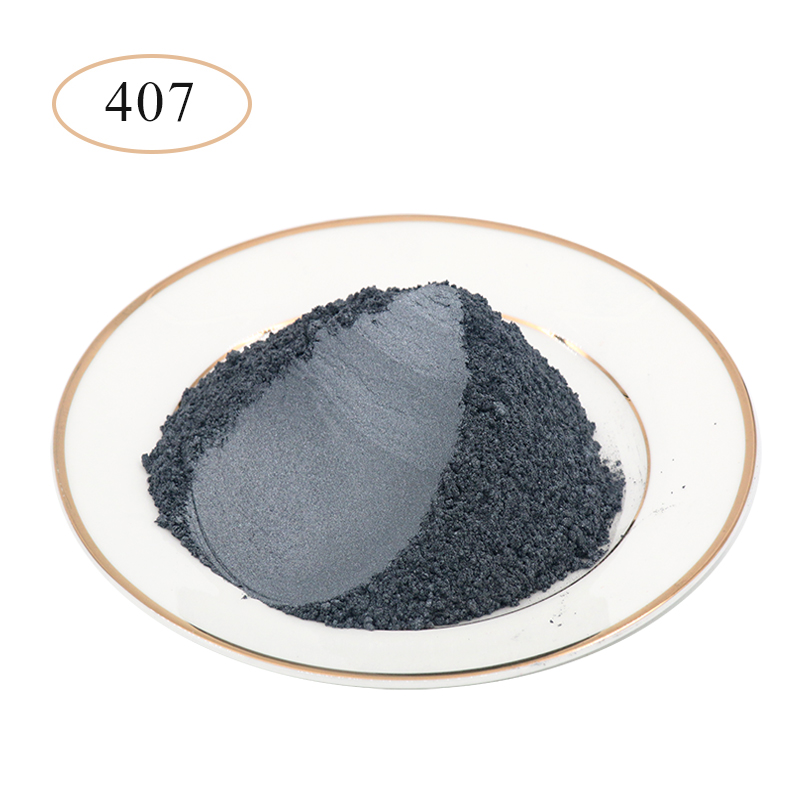 Type 407 Pearl Powder Pigment   Mineral Mica Powder DIY Dye Colorant For Soap Automotive Art Crafts Mica Pearl Powder 10g/50g
