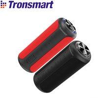 Upgrade Edition Tronsmart T6 Plus 40W TWS Lautsprecher Tragbare Lautsprecher Bluetooth 5,0 Spalte mit IPX6,NFC,TF Karte, USB-Stick