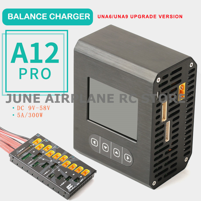 UNRC RC Plane Car A12 PRO 6S 12S LiPo Li polymer Balance Charger RC Battery Charging for RC model airplane