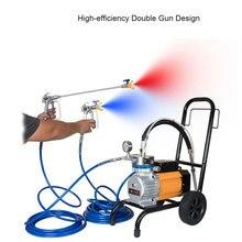 цена на Electric High Pressure Airless Sprayer Machine Paint Sprayer Wall Paint Spray Gun For Latex Paint  tool
