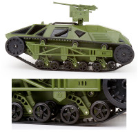 New Feilun RC Tank FC138 1/12 2.4G 30km/h Electric Armored Off Road Remote Control Vehicle RTR Army Green Model Toys