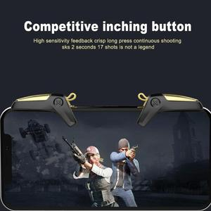 Image 5 - 1 Pair Mobile Game Controller Left Right Trigger Aim Button Gaming Assistant Gamepad Joystick for PUBG Shooting Joysticks
