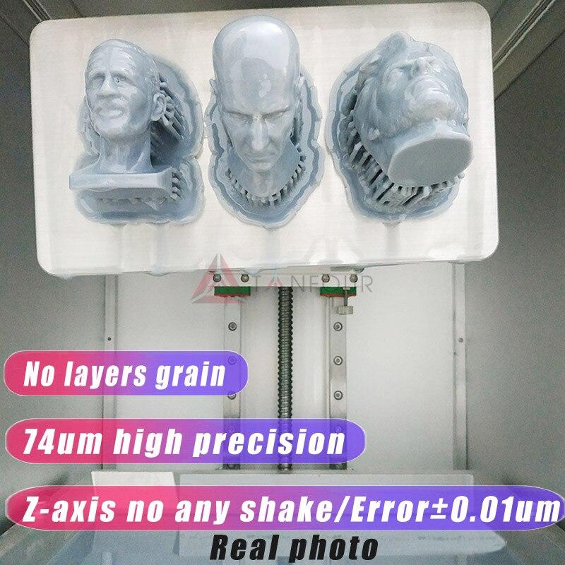 TIANFOUR T200 Upgrade 2k 3D Printer Resin With LCD Display 2