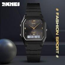SKMEI-montres pour adolescents, 3 heures à la mode, alarme Chrono, Sport, numérique, pour garçons et filles, étanche, 1604