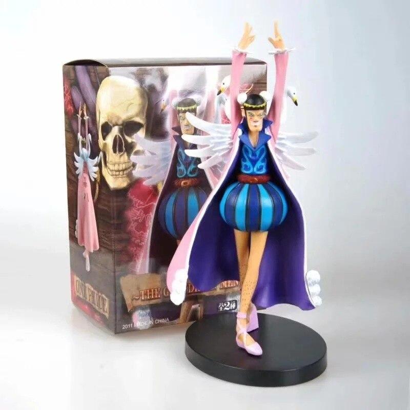 Nouveau Anime une pièce œuvres baroques Mr.2 Shemale Bon argile Bentham PVC figurine à collectionner modèle jouet cadeau