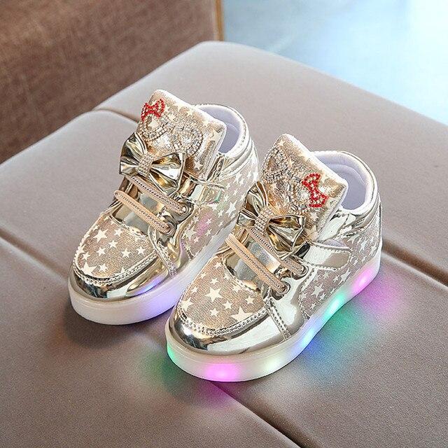 Glow in the Dark Girl Sneakers 2