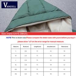 Vangull 2019 Women Winter Hooded Warm Coat Plus Size Green Cotton Padded Jacket Female Long Parka Womens Wadded Jaqueta Feminina 6