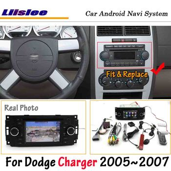 Liislee Android 8.0UP For Dodge Charger 2005~2007 Car Radio Stereo Carplay Screen DVD GPS Navi Map Navigation Multimedia System