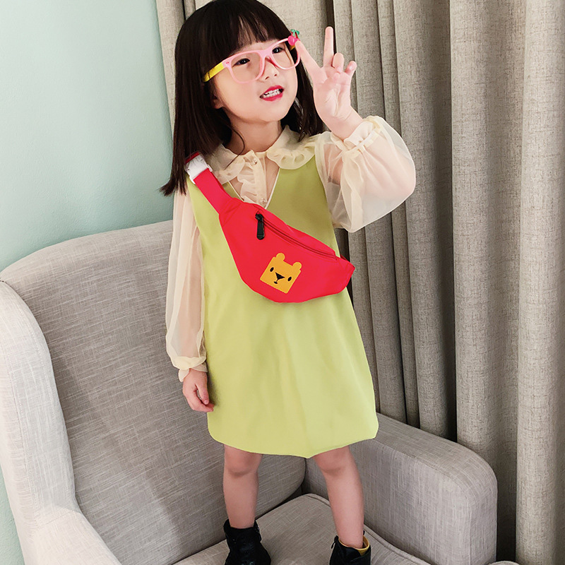 Cute Animals Kids Waist Bag Fanny Pack 2020 New Children's Chest Bags Banana Waist Packs Fashion Girl Crossbody Bag Phone Pouch