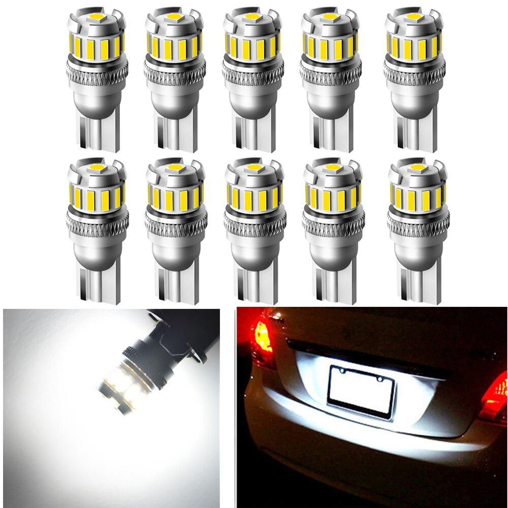 T10 194 7440 W21W LED Reverse License Plate Light Bulbs For 2020 Ford Explorer