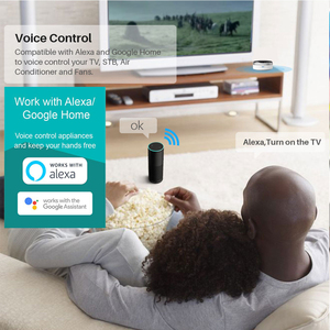Image 4 - Tuya Smart Home Automation Universal IR Remote Control WiFi + Infrared Controller Switch Google Home Alexa Siri Voice Control