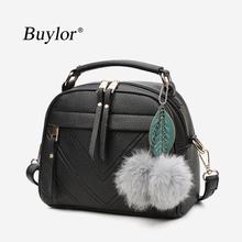 Crossbady-Bag Handbag Tote Messenger-Bags Female Women Fashion Casual with Tassel PU