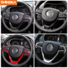 SHINEKA Interior Stickers For Jeep Cherokee 2014  Car Steering Wheel Decoration Cover Accessories For Jeep Grand Cherokee 2014  review