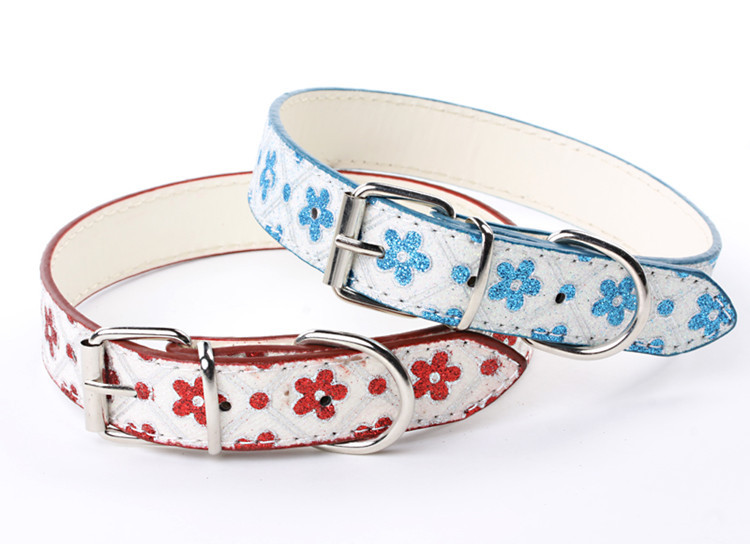 Majestic Princess Pet Feipet Pet Collar Dog Neck Ring Flashing Safflower Neck Ring