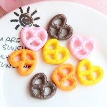 Phone-Case Cake-Charms-Supplies Slime Kawaii Hair-Accessories Boxi for Cute Resin Hearts