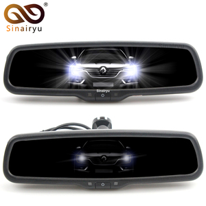 Image 1 - Sinairyu Car Electronic Auto Dimming Rearview Mirror, Special Bracket Replace Original Interior Mirror.