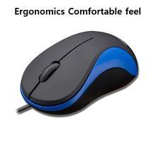 Usb мышь компьютерная xq проводная эргономичная