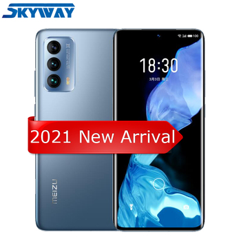 "2021 Original Meizu 18 5G Smart Phone Snapdragon 888 Octa Core 6.2"" Quad HD Screen 40W Fast Charger 8GB 128GB Cell Phone 1"