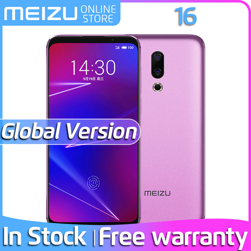"Meizu 16 6GB RAM 64GB 128GB ROM Global Version Phone Snapdragon 710 6.0"" FHD Screen Dual Rear Camera In screen Fingerprint|Cellphones|   - AliExpress"