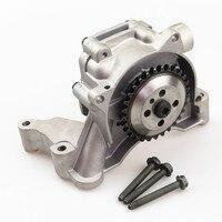 FHAWKEYEQ 1 Set Car 1.4 t Engine Oil pump + Screw For VW Passat CC Beetle Cabrio CC EOS Golf MK4 MK6 Jetta MK5 Tiguan 03C115105M