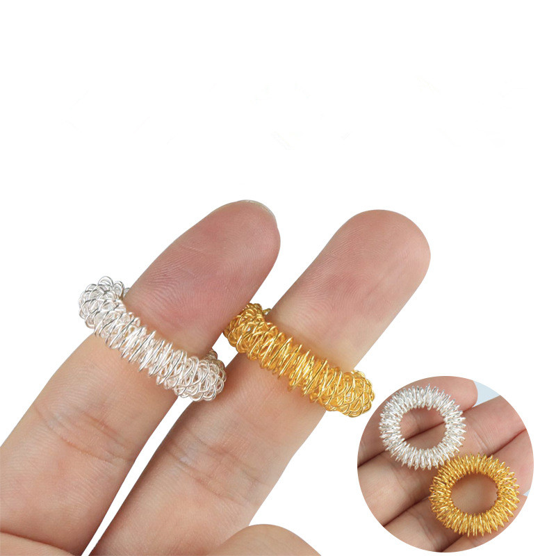 Finger-Ring Toy Anti-Toy Autism Stress Kids 10/1pcs
