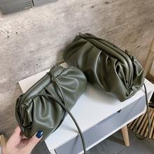 Women Simple Dumplings Messenger Bag Designer Retro New Fashion Cloud Female Crossbody Shoulder Bag Tide Handbag Clutch Bag
