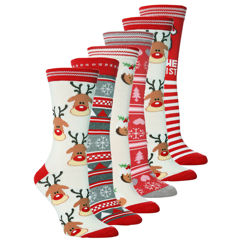 <font><b>Socks</b></font> <font><b>Unisex</b></font> Casual Christmas Winter Cute Cartoon <font><b>Animal</b></font> Thickness Stockings <font><b>socks</b></font> female man Sleeping <font><b>Sock</b></font> Happy <font><b>Sock</b></font> image