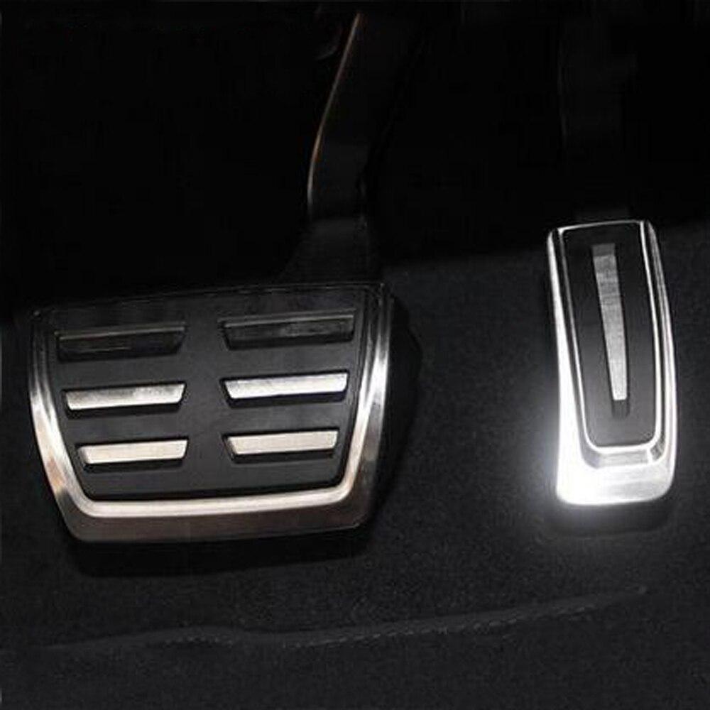 Combustible del coche de embrague de freno de pedales de Audi A4 B8 S4 RS4 Avant 8K Allroad Q3 A5 S5 RS5 8T Q5 8R SQ5 A6 C7 S6 4G A8 S8 A8L 4H de la cubierta