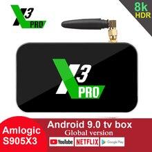 UGOOS X3 PRO Android 9.0 TV Box Amlogic S905X3 RAM 4GB 32GB