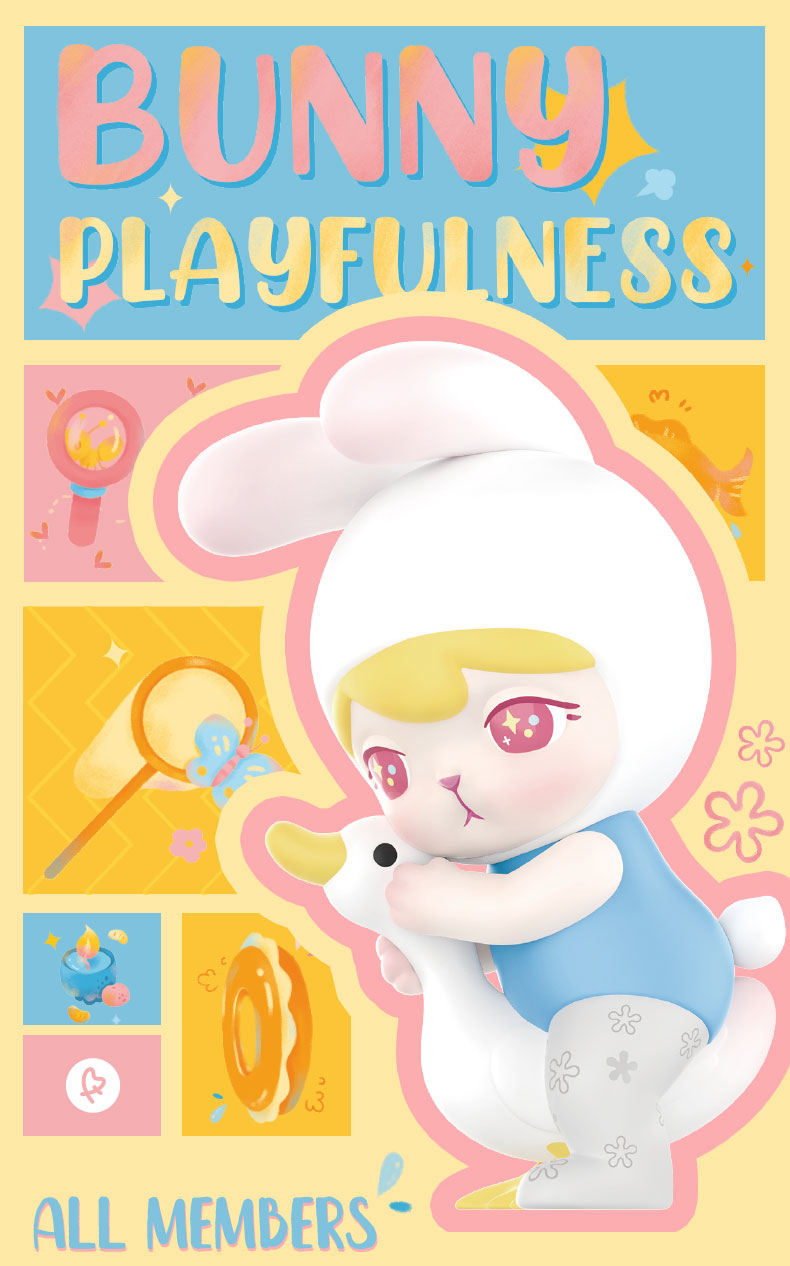 POP MART Whole Box Bunny Playfulness Series Blind Box Art Figures Binary  Action Figure Birthday Gift Kid Toy Free shipping|Action Figures| -  AliExpress