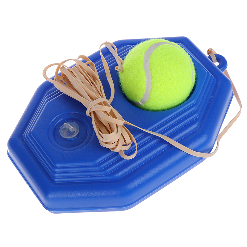 1set Single Tennis Trainer Self-study Tennis Training Tool Practice Train