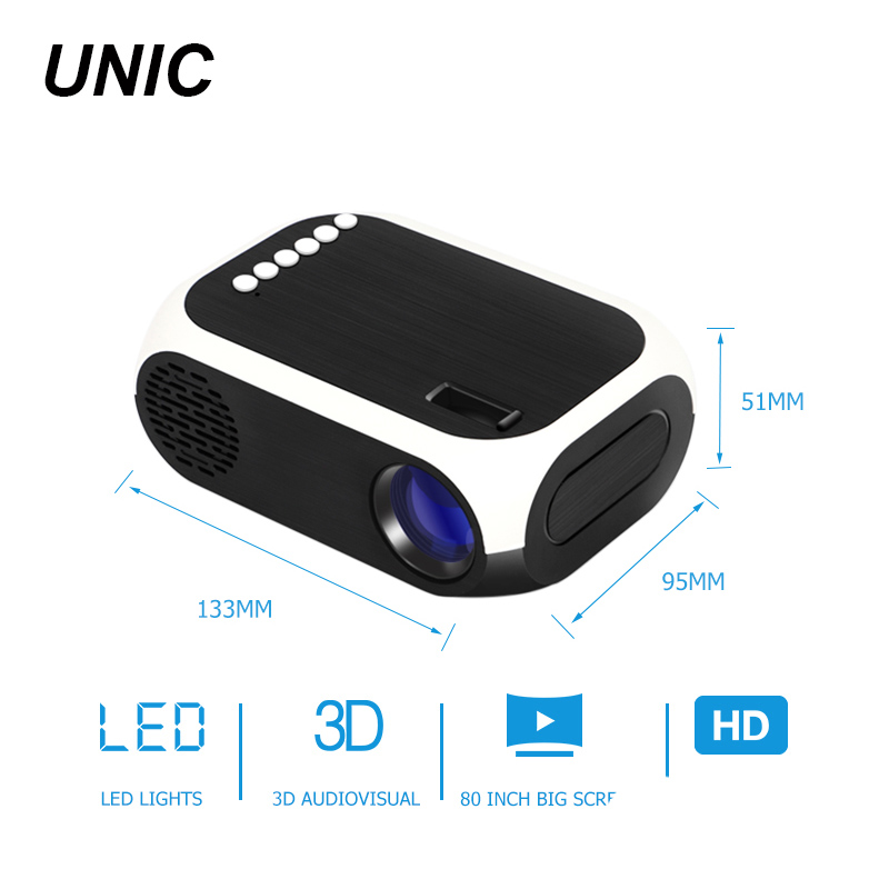 cheap small micro LCD home outdoor pico pocket portable LED mini projector YY-BLJ111 for mobile phone smartphone
